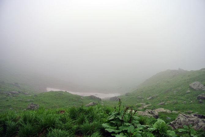 """""""Ausblick"""" von der Panoramica delle Vette"""