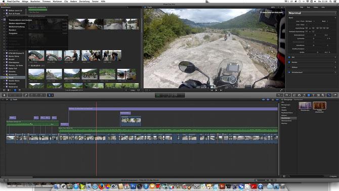 Mit Final Cut Pro X lassen sich auch professionelle Filme produzieren