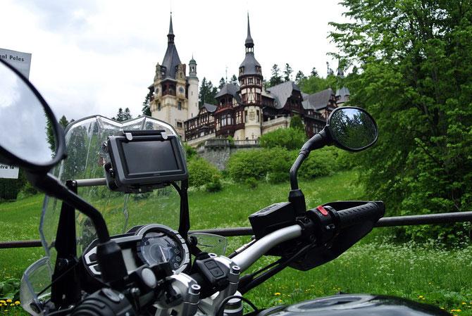 Das vom Wiener Archtitekten Carl Wilhelm Christian Ritter von Doderer  geplante Schloss Peles