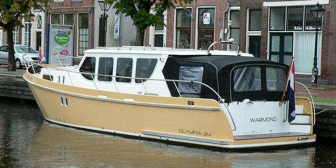 Alkmaar, es regnet und regnet und regnet