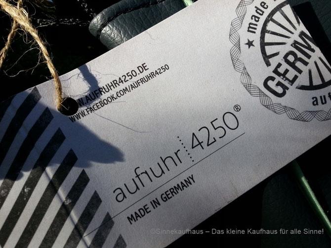 aufruhr 4250 - das coole Kultlabel aus Deutschland - neu beim Sinnekaufhaus!