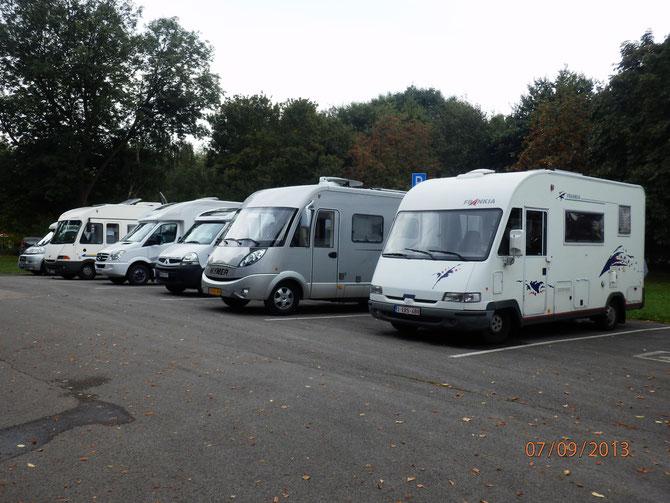 Camperplaats Paffendorf