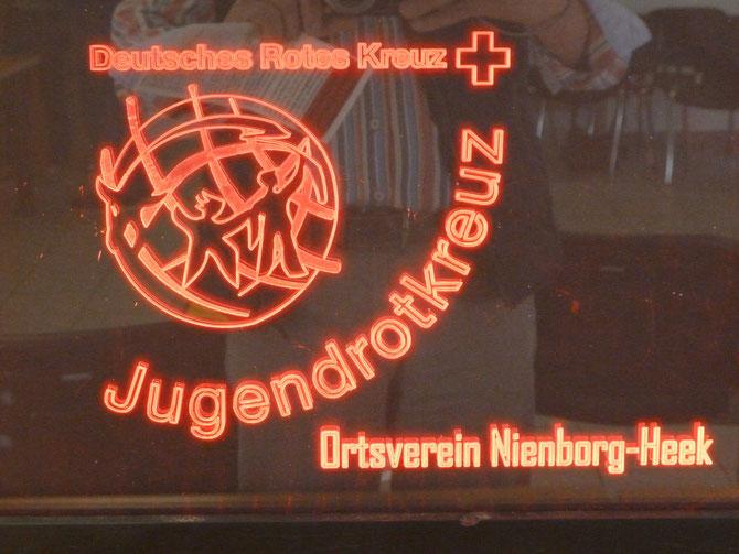 Im Seminarraum der DRK in Heek ist dieses Leuchtbild zu finden