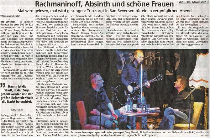 Allgemeine Zeitung, 18.03.19