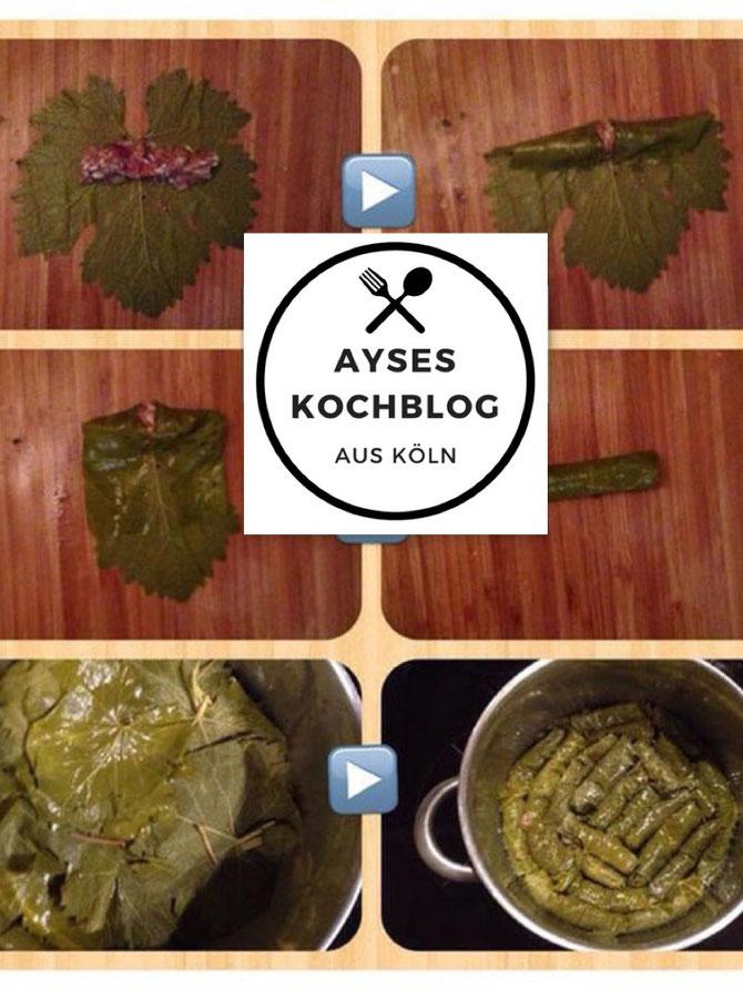 original Rezepte gefüllte Weinblätter aus der Türkei l Sarma