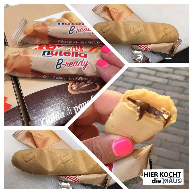 Nutella B-ready Schokoriegel - Erfahrungsbericht
