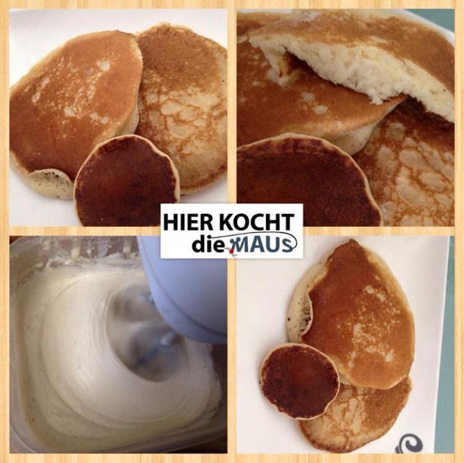 Saftige Pancakes-Pannekooche