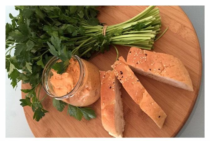 Rezept Meze Dip - Scharfe Feta-Creme wie beim Tuerken
