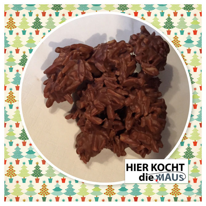 Schoko-Haeppchen mit Mandelsplitter | Schokoladentraum