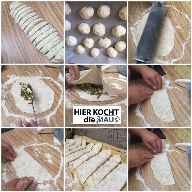 Rezept einfache Goezleme - Pfannenboerek mit Feta