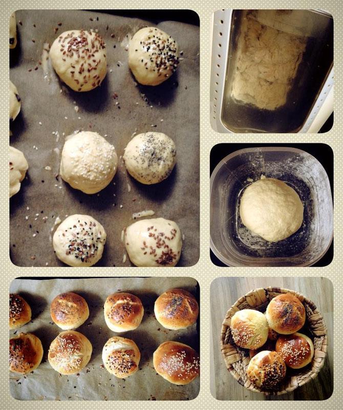 Rezept Selbstgemachte Mini-Broetchen