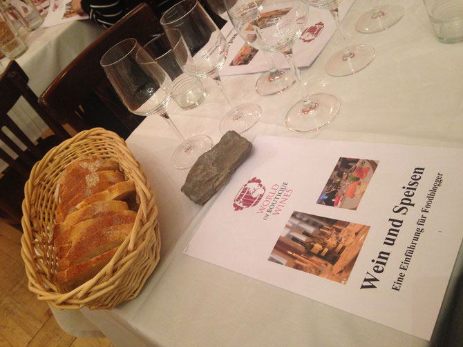 Wein & Sushi Workshop in der Malve in Koeln