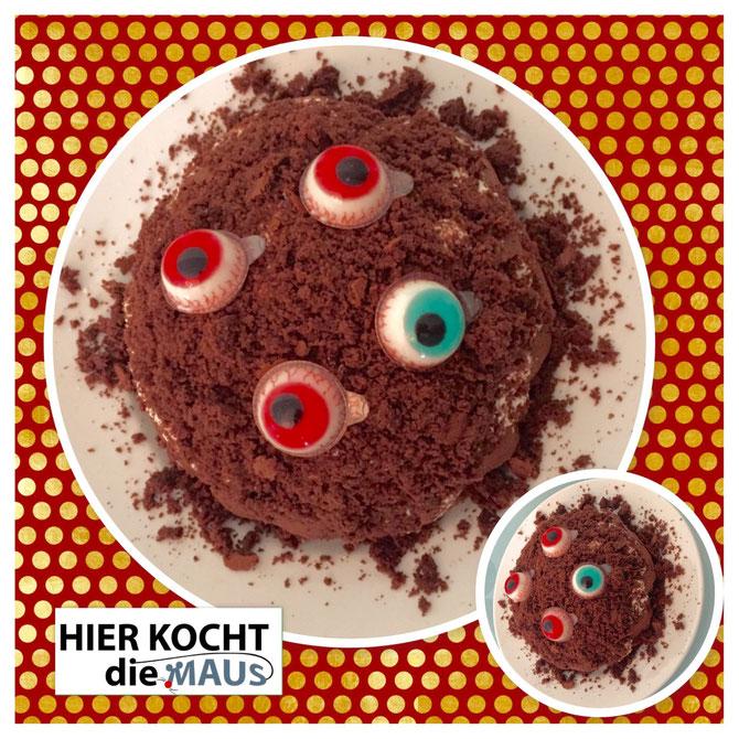 Grusel-Kuchen zu Halloween