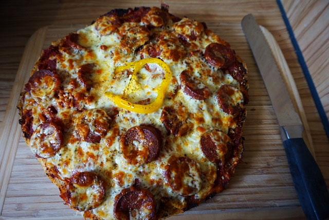 Rezept Fladenbrot Pizza - Super Resteverwertung