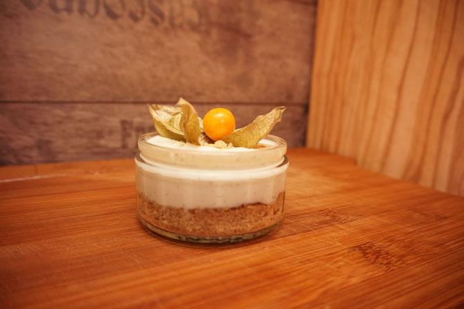 Rezept Kaesekuchen mit Zitrone aus dem Glas - cheesecake aus dem Glas