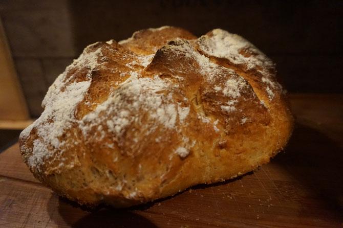 Rezept saftiges Dinkelbrot  | nussig und mit Ei