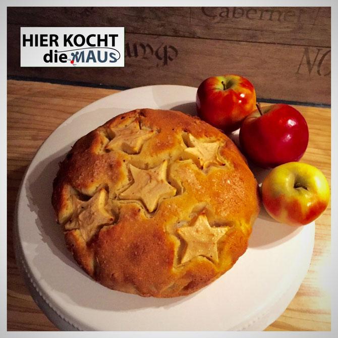 Rezept saftiger Apfelkuchen vom anderen Stern