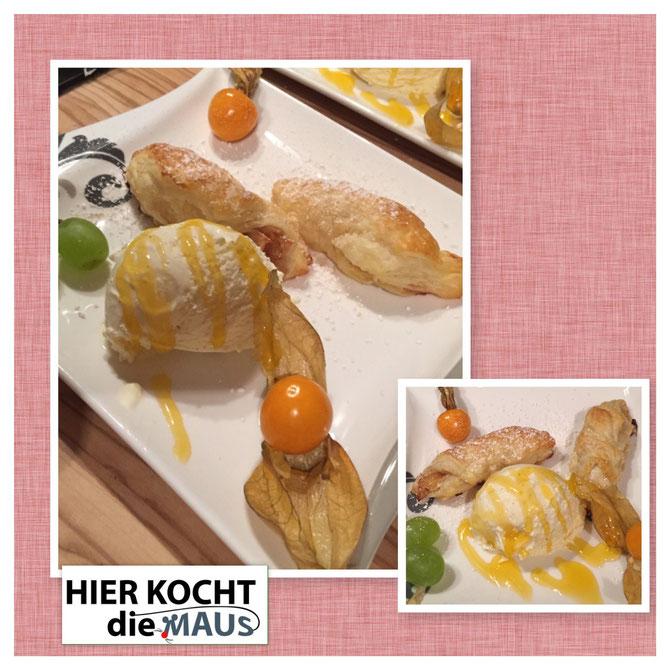 Mini Apfel-Croissants mit Zimt | klein und fein