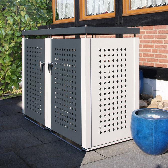 m lltonnenbox rollatorbox kinderwagenbox tidy produkte. Black Bedroom Furniture Sets. Home Design Ideas