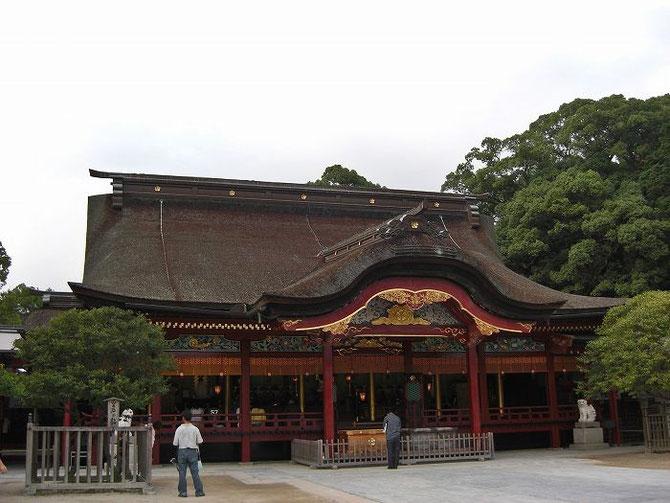 太宰府天満宮本殿(2009.08.29)