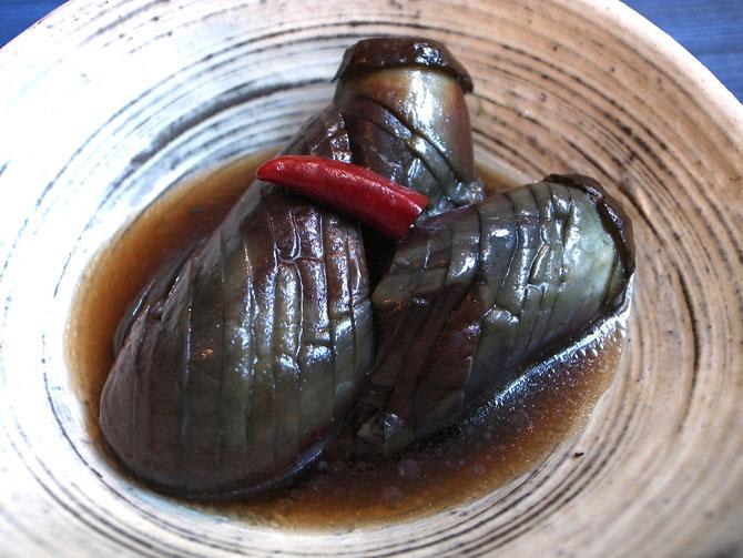 茄子の揚げ煮