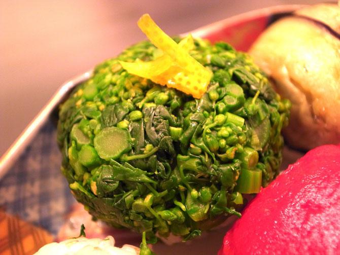 野菜手鞠寿司