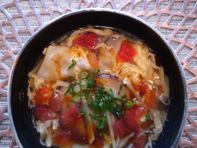 トマトの酸辣湯