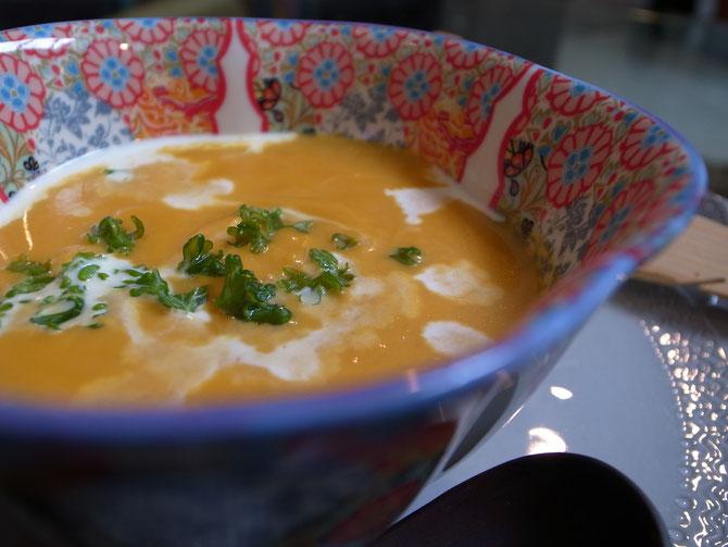 バターナッツのスープ