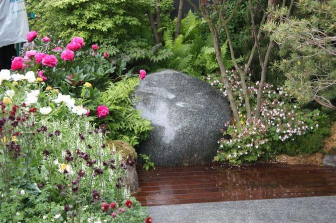 Chelsea Gardenshow, norwegian Pavillion, 2010