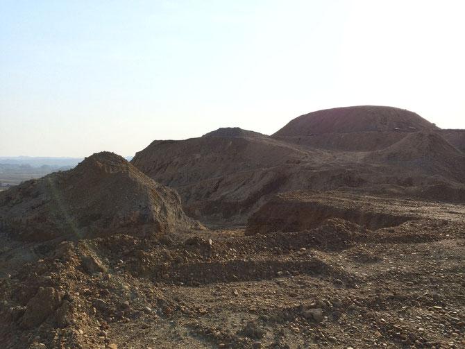採石場ロケ地