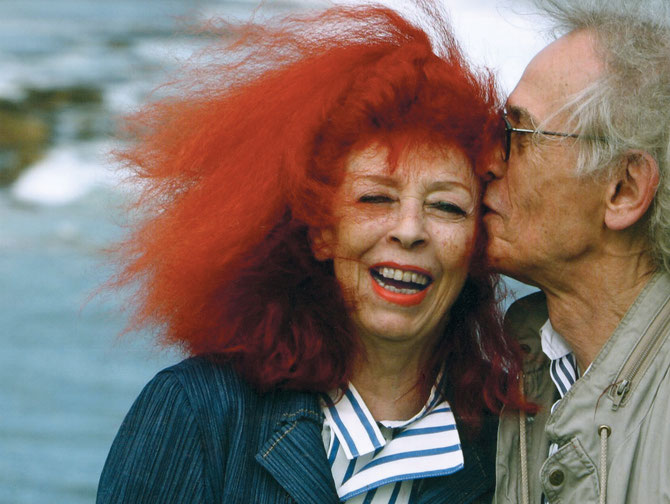 Christo und Jeanne-Claude in Little Bay, wo sie 1969 das Projekt Wrapped Coast realisiert haben, Australien, 2007 // Foto: Bryan O'Brien