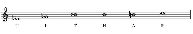 musique partition Ulthar thème