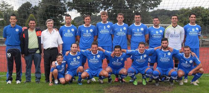 Fvgg 08 Mühlacker präsentiert seine neuen Trikots für die Saison 2010/2011