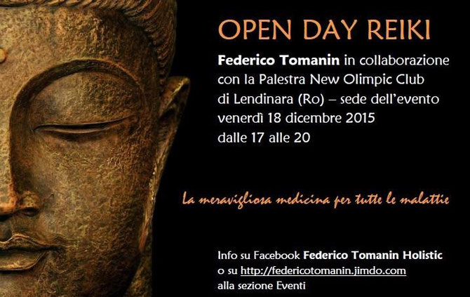 Flyer Open Day Reiki