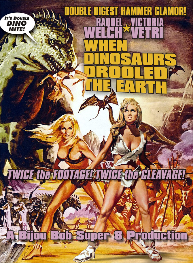When Dinosaurs Drooled for Raquel Welch and Victoria Vetri