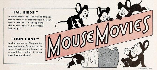 Starring Jailbird Mouse & Mischievous Mouse!