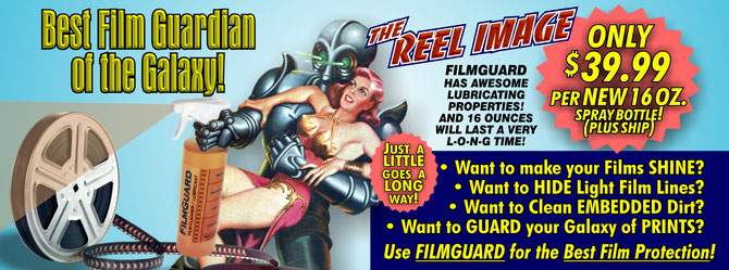 Merely the BEST FILM GUARD-ian of the Entire Galaxy available from The Reel Image!
