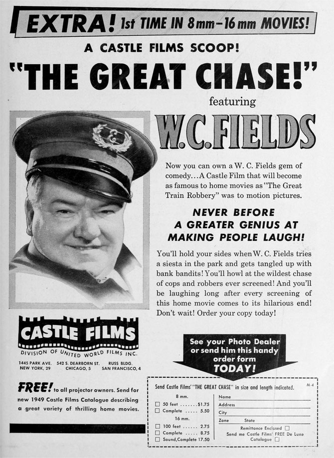 W.C. Fields makes his Castle Films debut!