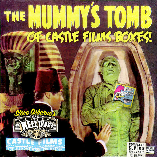The Mummy's Tomb of Castle Films Boxes