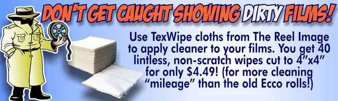 Tex Wipe Cloths from The Reel Image