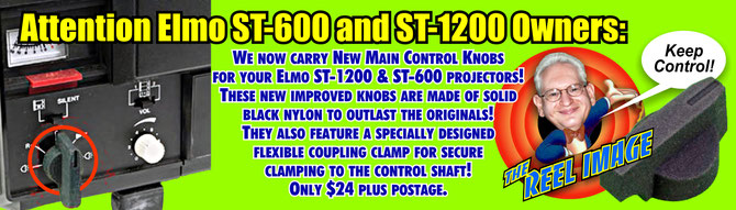 Take Control of your Elmon ST-600 & ST-1200 with New Main Control Knobs from The Reel Image