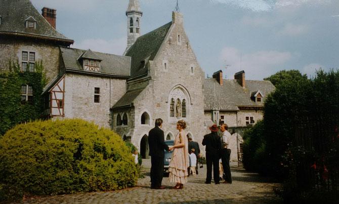 Hochzeitsgewand 1996 Idee und Ausführung: Beate Gernhardt