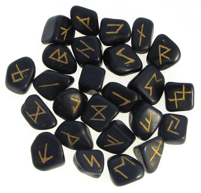 Méthode de tirage par pioche de 7 runes