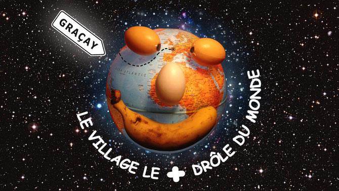 Le Village Le +  Drôle Du Monde