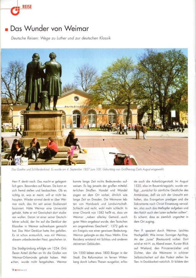 Weimar-Reise, Reinhard Delau, BVMW Sachsen, Luther, Reportagen-Blog, Weltsicht