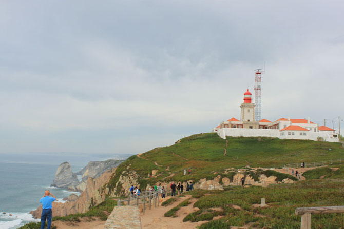 Cabo da Roca, Portugal, the most western point of Europe