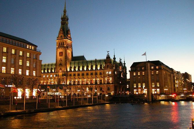 Hamburg City Hall, Rathaus