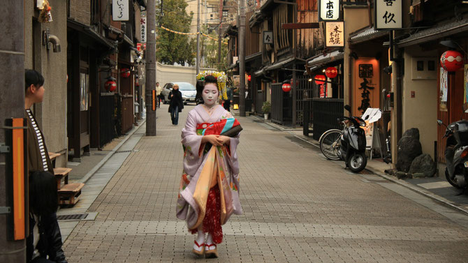Geisha in Kyoto, Maiko in Kyoto