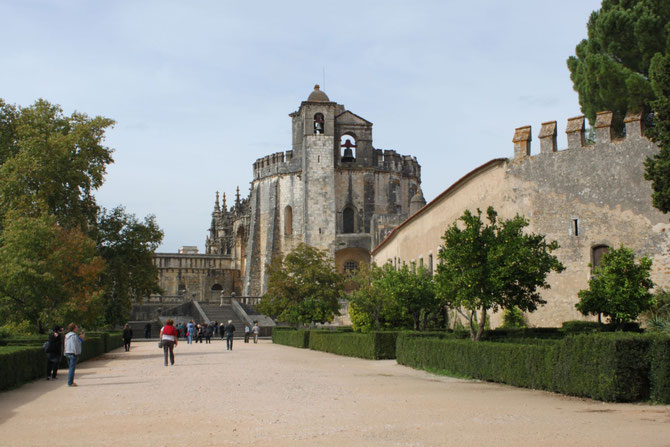 Convent of Christ, a monastery of Templar Knights, Tomar