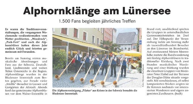 Bludenzer Anzeiger vom 19.7.2013